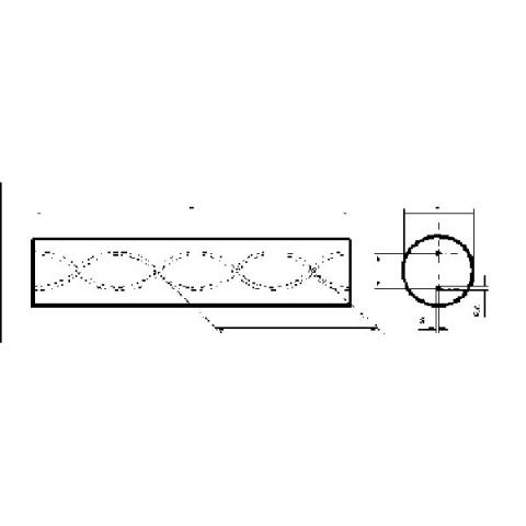螺旋孔碳化鎢圓棒