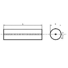 單直孔碳化鎢圓棒